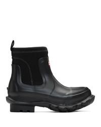 Bottes de pluie noires Stella McCartney