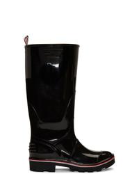 Bottes de pluie noires Thom Browne