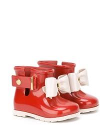 Bottes de pluie rouges Mini Melissa