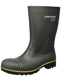 Bottes de pluie vert foncé Dunlop