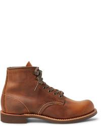 Bottes de travail en cuir marron Red Wing Shoes