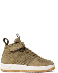 Bottes en daim brunes claires Nike