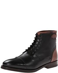 Bottes habillées en cuir noires