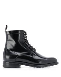 Bottes habillées en cuir noires Berwick Shoes