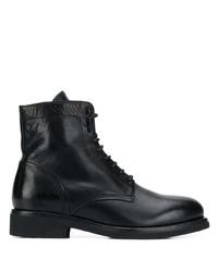 Bottes habillées en cuir noires Buttero
