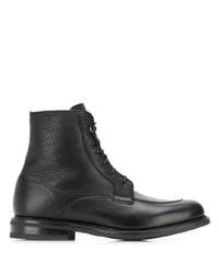 Bottes habillées en cuir noires Church's