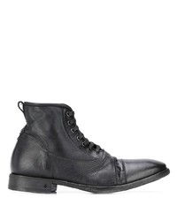 Bottes habillées en cuir noires John Varvatos