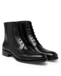 Bottes habillées en cuir noires Salle Privée