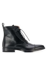 Bottes habillées en cuir noires Scarosso