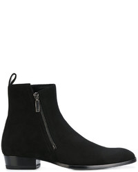 Bottes habillées noires Saint Laurent