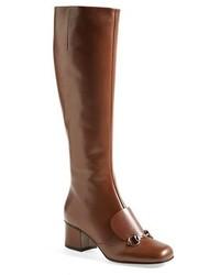 Bottes hauteur genou brunes original 1549005