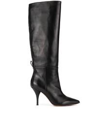 Bottes hauteur genou en cuir noires L'Autre Chose