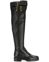 Bottes hauteur genou noires Valentino