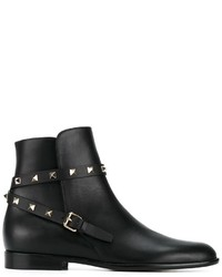 Bottes noires Valentino Garavani