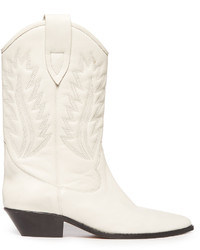 Bottes western blanches