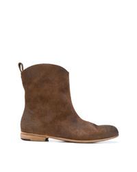 Bottes western en cuir marron Marsèll