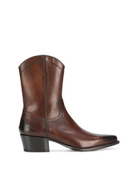 Bottes western marron DSQUARED2