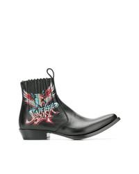 Bottes western noires Givenchy