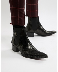 Bottes western noires Jeffery West