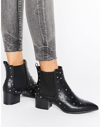 Bottines à clous noires Missguided