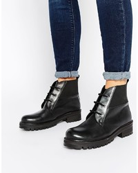Bottines a lacets medium 332489