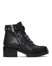 Bottines à lacets en cuir noires 3.1 Phillip Lim