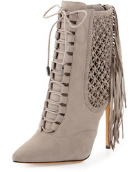 Bottines a lacets grises original 9286601