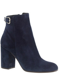 Bottines bleu marine