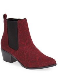 Bottines chelsea bordeaux original 1647231