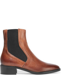 Bottines chelsea en cuir marron Vince