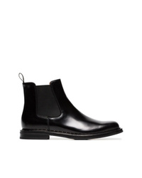 Bottines chelsea en cuir noires Church's