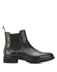 Bottines chelsea en cuir noires Polo Ralph Lauren
