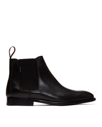 Bottines chelsea en cuir noires Ps By Paul Smith