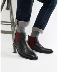 Bottines chelsea en cuir noires PS Paul Smith