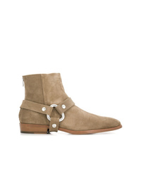 Bottines chelsea en daim marron clair Zadig & Voltaire