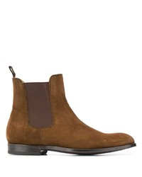 Bottines chelsea en daim marron Green George