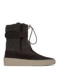 Bottines chelsea en daim noires Fear Of God