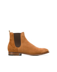 Bottines chelsea en daim tabac Buttero