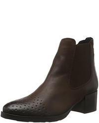 Bottines chelsea marron foncé Tamaris