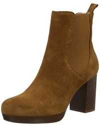 Bottines chelsea marron New Look