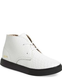 Bottines chukka blanches