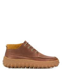 Bottines chukka en cuir marron Camper