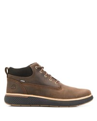 Bottines chukka en cuir marron Timberland