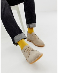 Bottines chukka en daim beiges Selected Homme