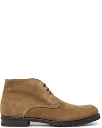 Bottines chukka en daim marron clair Harry's of London