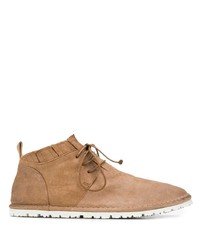 Bottines chukka en daim marron clair Marsèll