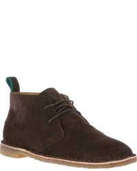 Bottines chukka en daim marron foncé Polo Ralph Lauren