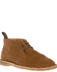 Bottines chukka en daim marron Polo Ralph Lauren