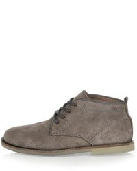 Bottines chukka grises