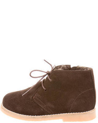 Bottines chukka marron